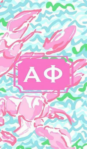 Alpha phi iPhone background Alpha Phi Pinterest
