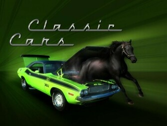View Of Classic Muscle Car Wallpaper Hd Car Wallpapers