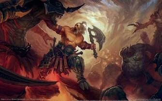 Download Barbarian Diablo Wallpaper 1680x1050 Wallpoper 279736