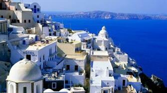 Santorini Wallpaper 1920x1080 HD Wallpaper Background Images