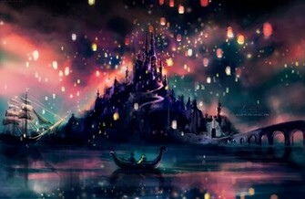 Disney Tangled the lights wallpapers for Disney tangled wallpaper