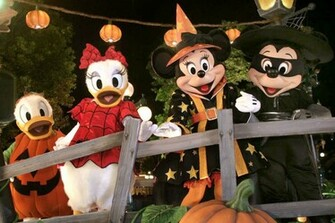 wallpaper Disney Halloween Wallpapers hd wallpaper background