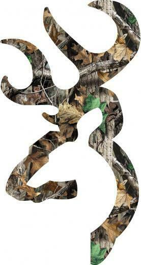 Browning Heart Logo Camo Browning style deer camo