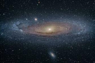 Andromeda Galaxy through Telescope id157040 Buzzergcom
