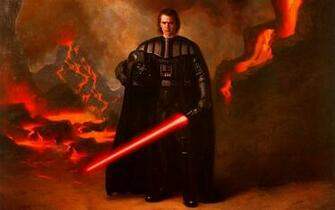 Luke Skywalker vs Darth Vader Anakin Skywalker picture by mynor pk58