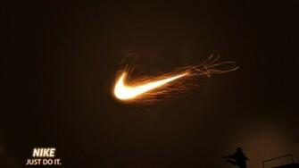 Nike Just Do It Fire Football 1920x1080 HD Sport
