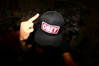Obey Tumblr Wallpaper Shepard fairey obey hat daniel