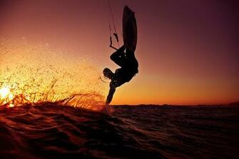 Wakeboarding Sunset Wallpaper Wakeboard sunset wallpaper