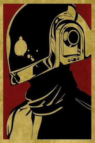 Obey Daft Punk iPhone HD Wallpaper iPhone HD Wallpaper download