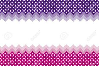 Background Wallpaper Material Polka Dots Zig zag Margin Price
