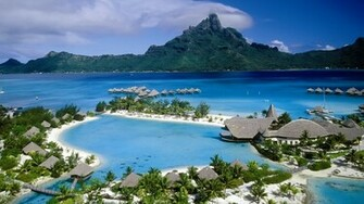 Beach Resort HD Wallpaper of Beach   hdwallpaper2013com