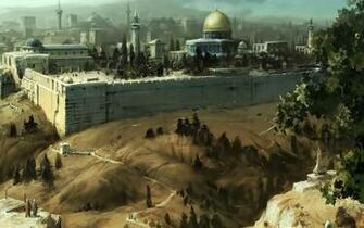 Awesome Jerusalem Oil Painting Picture of Art Wallpapers HD