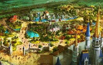 Disney Worlds Fantasyland wallpaper Cartoons Wallpaper Disney