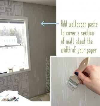 How To Hang Wallpaper Like a Pro   Jenna Burger