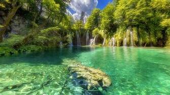 Photos Croatia Plitvice Lakes National Park Nature 2560x1440