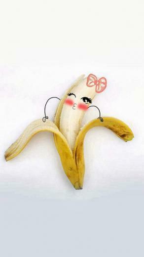 banana split IOS7 wallpaper Wallpapers and Lockscreens Pinterest
