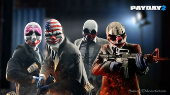 Payday 2 Gang Wallpaper by SameerHD