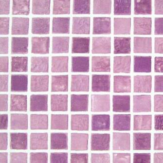 Purple Tiles Effect Self Adhesive Wallpaper Peel Stick Removable Vinyl