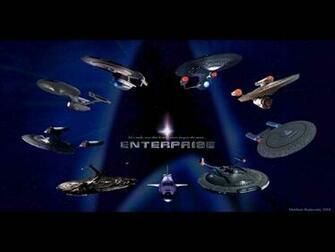 starship Enterprise of Star Trek Star Trek computer desktop