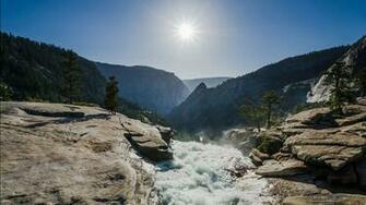 Nevada Fall Yosemite National Park Wallpapers HD Wallpapers
