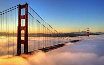 Golden Gate from San Francisco HD Wallpaper Slwallpapers