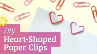 Heart paperclip wallpaper 1280x720 28037