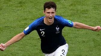 France v Belgium Antoine Griezmann in but Kylian Mbappe