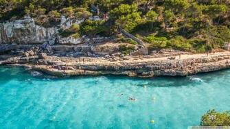 Cala Llombards Mallorca 4K HD Desktop Wallpaper for 4K Ultra
