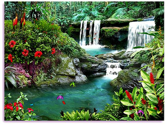 Unlike other screensavers in Living Waterfalls 3 you have the