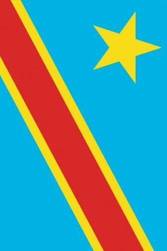 Democratic Republic of the Congo Flag iPhone Wallpaper HD