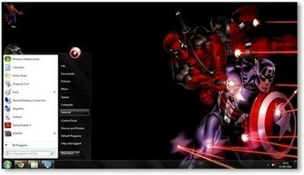 Windows 7 Themes Marvel Comics Theme for Windows [Comics Themes]
