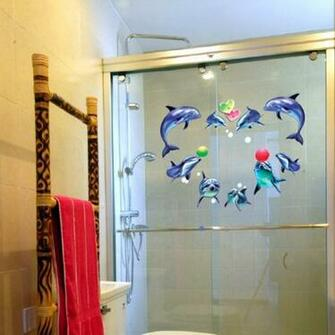 Details about Removable Vinyl Wall Sticker Wallpaper Decal Dolphin