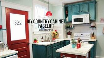 DIY Cabinet Refacing Knock It Off The Live Well Network