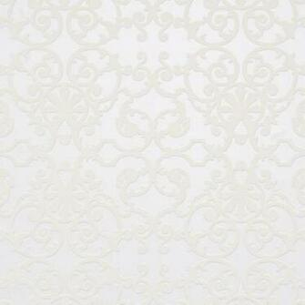 Ornate Off White Wallpaper R1533 sample   Traditional   Wallpaper