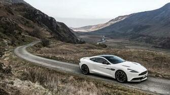 2015 Aston Martin Vanquish Carbon White Edition   Side HD