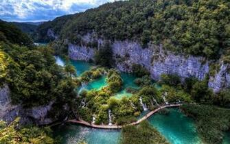 Plitvice Lakes National Park [5] wallpaper   Nature wallpapers