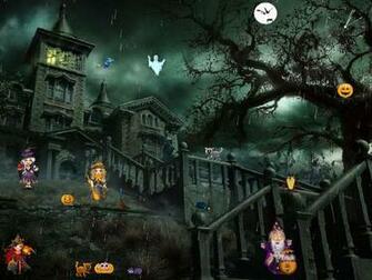 Halloween Screensaver   Funny Halloween   FullScreensaverscom