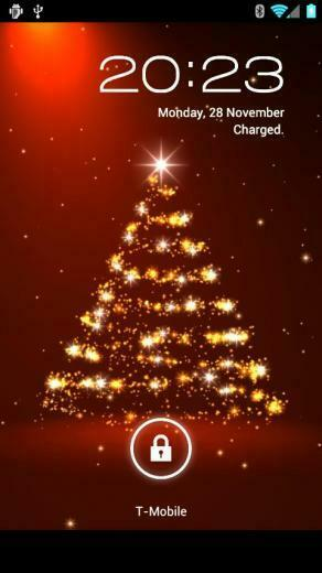 christmas and the new year christmas live wallpaper is a stunning