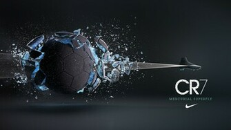 CR7 shoe campaign I was responsible for exploding the football and