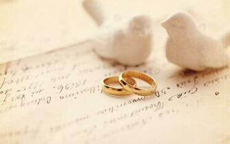 Gold Ring Love Wedding Wallpaper PC 7929 Wallpaper High Resolution