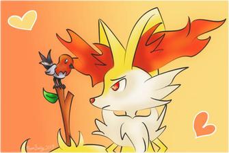 Pokemon Lucario X Braixen Pokemon Images Pokemon Images