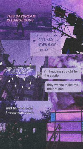 aesthetic aestheticpurple purple tumblr wallpaper