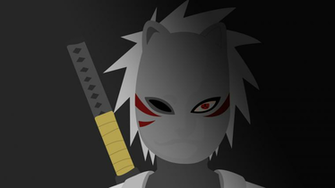 Kakashi ANBU wallpaper Naruto