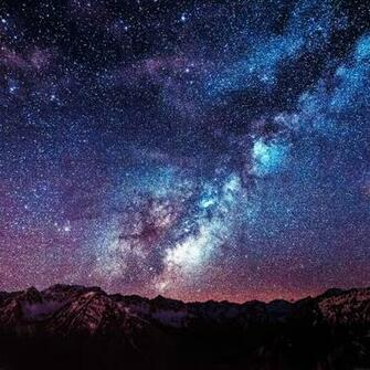 wallpaper amazing milkyway space mountain red 9 wallpaperjpg