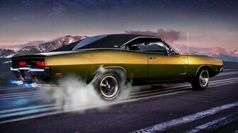 Classic Muscle Car Wallpaper   iBackgroundWallpaper
