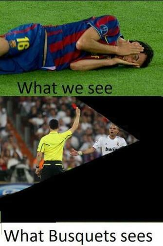 Busquests Pepe Barcelona Real Madrid Football Funny Lol Soccer Meme