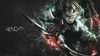 Rengar   New Splash art Wallpaper by JuliannMiic
