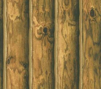 Log Cabin Wallpaper Home Decor Pinterest