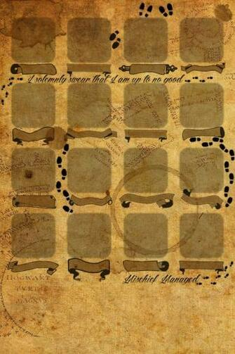 Marauders map Iphone 4 wallpaper Harry Potter Pinterest iPhone