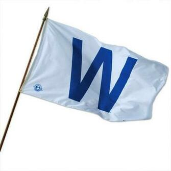 Cubs Win Flag for Facebook